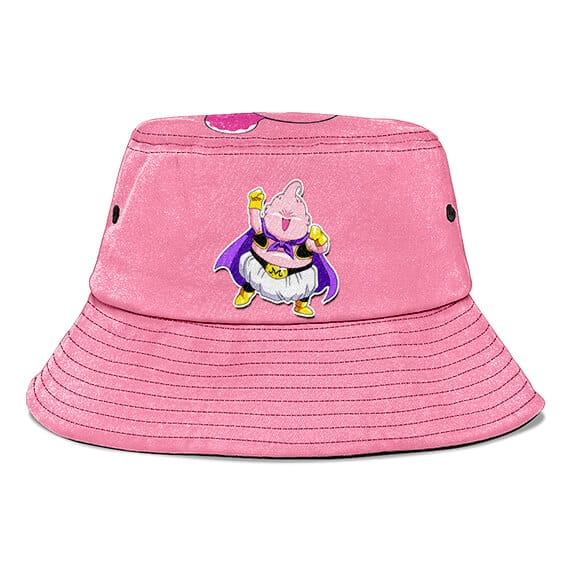 Chibi Majin Buu Dragon Ball Z Pink Cute and Cool Bucket Hat