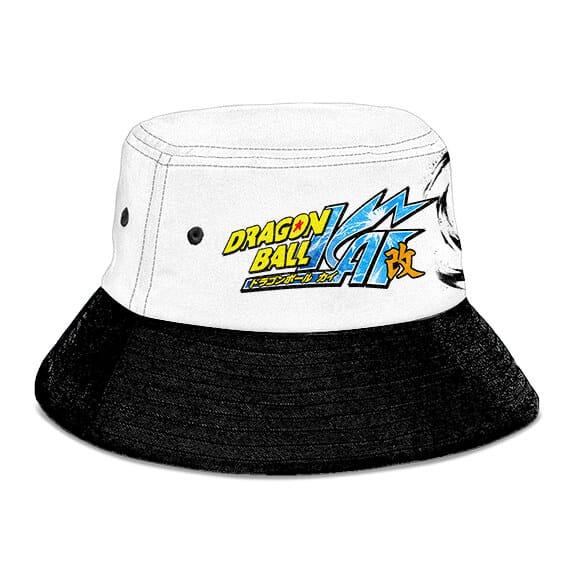 DBZ Kai SSJ2 Son Gohan White and Black Powerful Bucket Hat