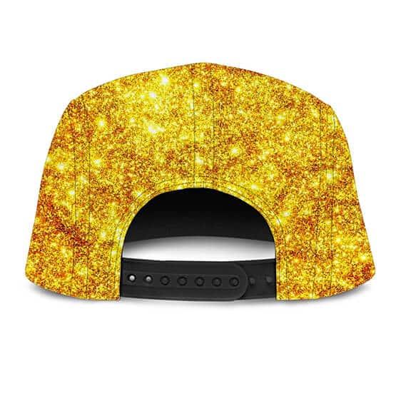 DBZ Sparkling Gold Frieza Luxury Limited Edition 5 Panel Hat
