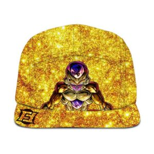 DBZ Sparkling Gold Frieza Luxury Limited Edition 5 Panel Hat