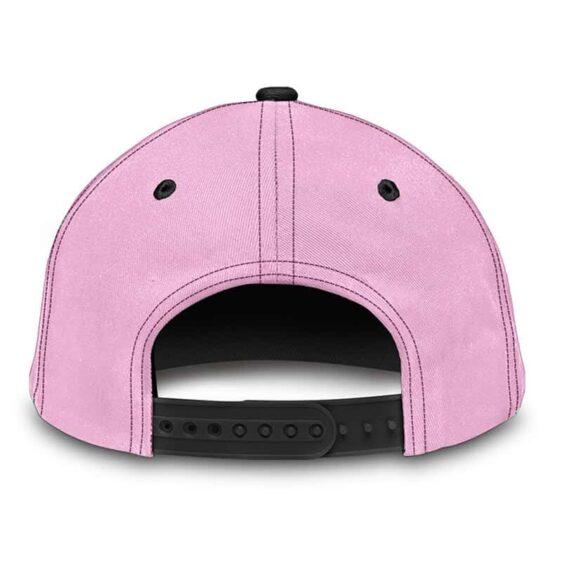 Dragon Ball Adorable Majin Buu Face Funny Pink Baseball Cap