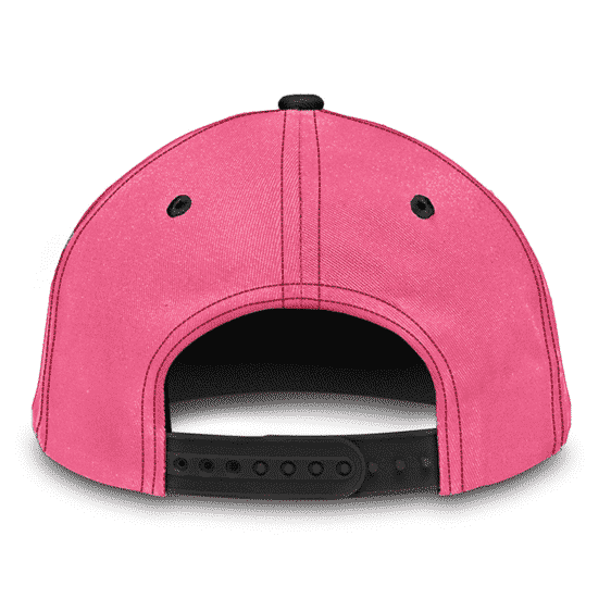 Dragon Ball Fat Buu Babidi Sponge Bob Patrick Spoof Pink Dad Baseball Cap