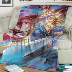 Dragon Ball Future Trunks King Cooler Mecha Frieza Dope Blanket