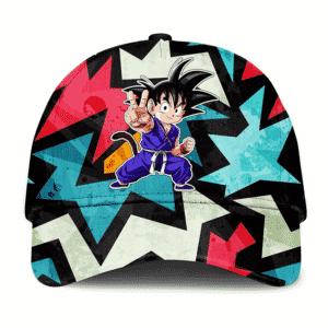 Dragon Ball GT Kid Goku Abstract Dope Artwork Cool Dad Cap