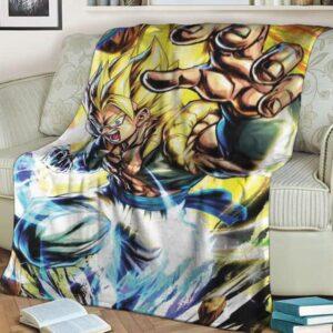 Dragon Ball Gogeta SSG2 Energizing Awesome Blanket