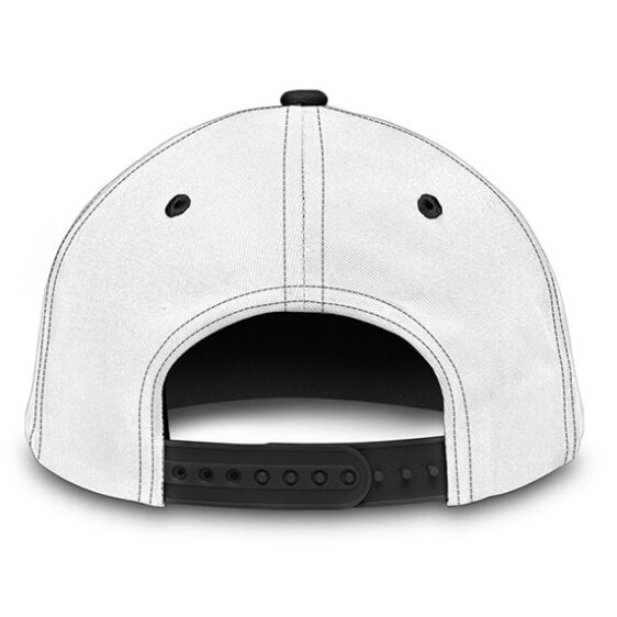 Dragon Ball Gotenks' Ghost Cute Vector Art White Blue Dad Hat