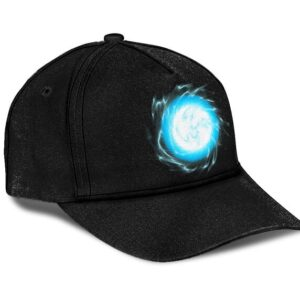 Dragon Ball Ki Energy Minimalist Black Awesome Dad Hat