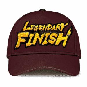 Dragon Ball Legends Legendary Finish Wonderful Dark Brown Baseball Cap