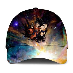 Dragon Ball Legends Yamcha Colorful Galactic Design Cool Baseball Hat