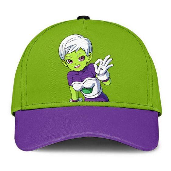Dragon Ball Sexy Cheelai Green Purple Cool Dad Baseball Hat
