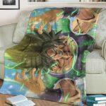Dragon Ball Super Broly Movie Mad Base Form Fleece Blanket
