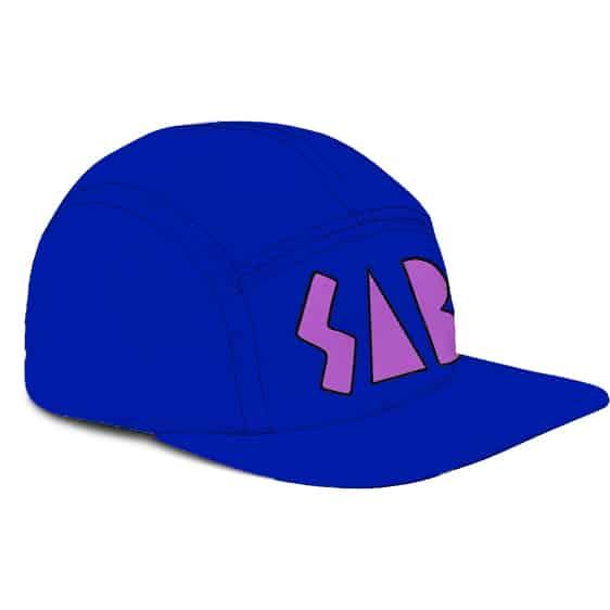 Dragon Ball Super Broly Movie SAB Cosplay Blue 5 Panel Hat