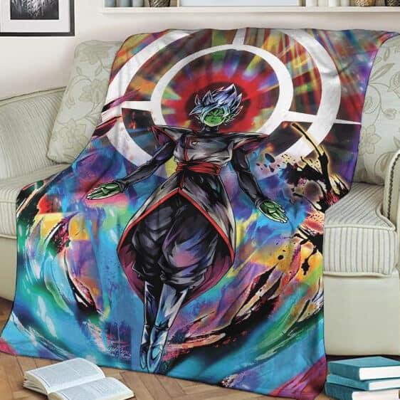 Dragon Ball Super Fused Zamasu Colorful Awesome Fleece Blanket