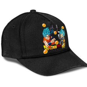 Dragon Ball Super Goku Beerus Whis Vegeta Cool Black Dad Hat