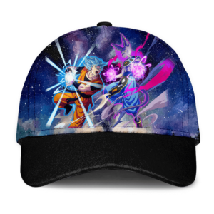 Dragon Ball Super Goku Training With Beerus SSGSS Trucker Hat