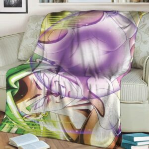 Dragon Ball Super Handsome Smirking Broly Awesome Throw Blanket