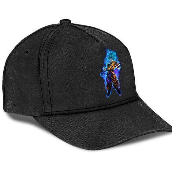 Dragon Ball Super Son Goku Super Saiyan Blue Black Baseball Hat