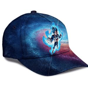 Dragon Ball Super Vegeta In Colorful Galaxy Dope Dad Baseball Hat
