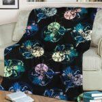 Dragon Ball Super Vegeta SSGSS Trippy Colorful Pattern Cool Fleece Blanket