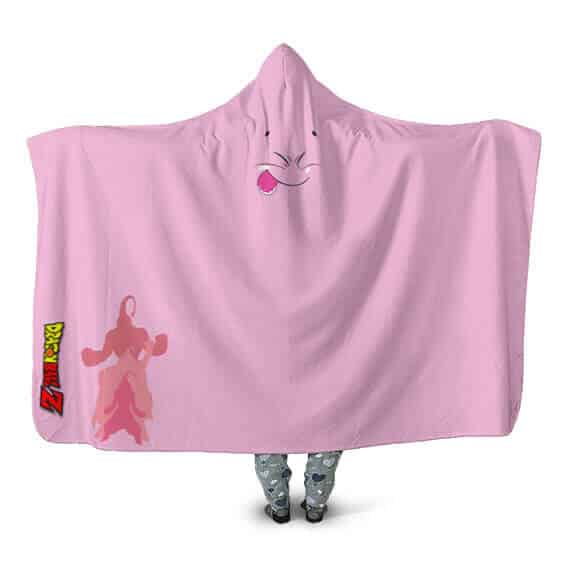 Dragon Ball Transforming Pattern Majin Buu Cool Hooded Blanket