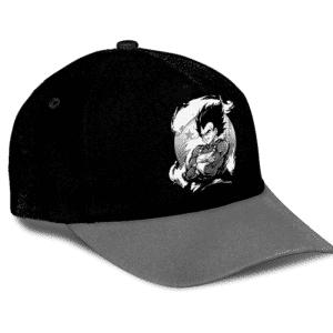 Dragon Ball Vegeta Base Form Awesome Black Gray Dad Baseball Hat