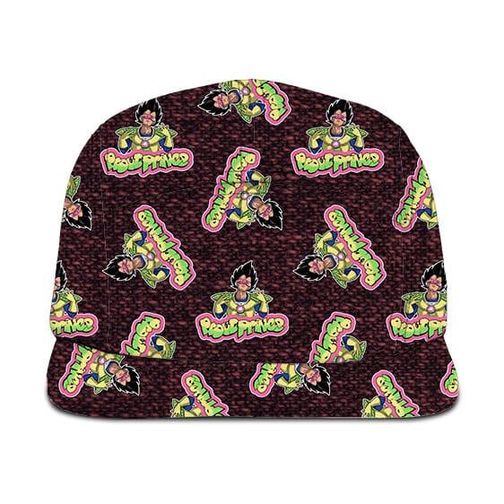 Dragon Ball Vegeta Proud Prince Dope Pattern Camper Hat