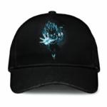 Dragon Ball Vegeta Silhouette SSGSS Minimalist Black Baseball Hat