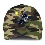 Dragon Ball Vegeta Super Saiyan Camouflage Cool Baseball Hat