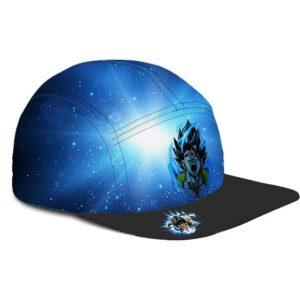 Dragon Ball Vegito Base Form Powerful Blue Black Five Panel Cap