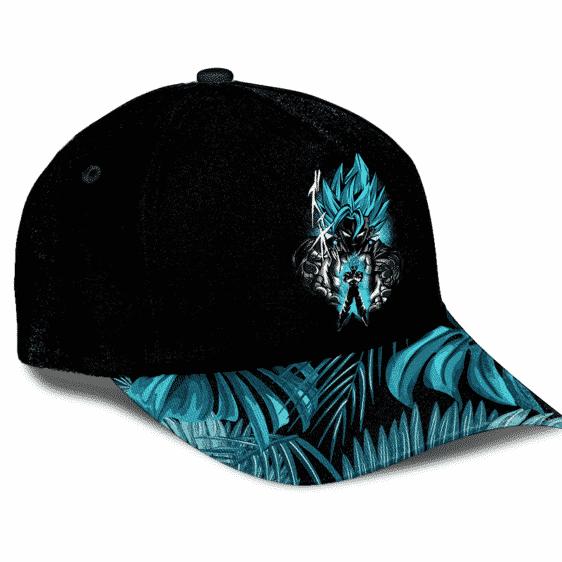 Dragon Ball Vegito Super Saiyan Blue Minimalist Breezy Baseball Hat