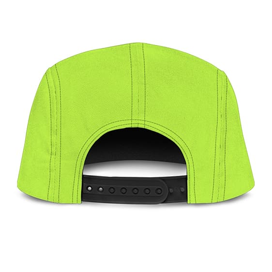 Dragon Ball Z Adorable Cheelai Neon Green Violet Awesome Camper Hat