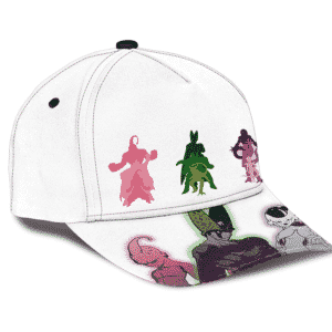 Dragon Ball Z Antagonists Trinity Cell Buu Frieza Baseball Cap