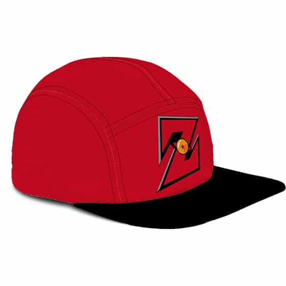Dragon Ball Z Awesome Logo Powerful Red Cool Camper Hat