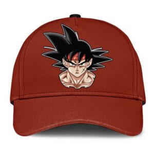 Dragon Ball Z Bardock Minimalist Red Dope Baseball Cap