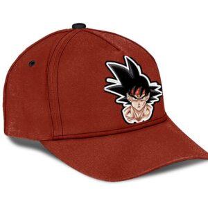 Dragon Ball Z Bardock Minimalist Red Dope Baseball Cap