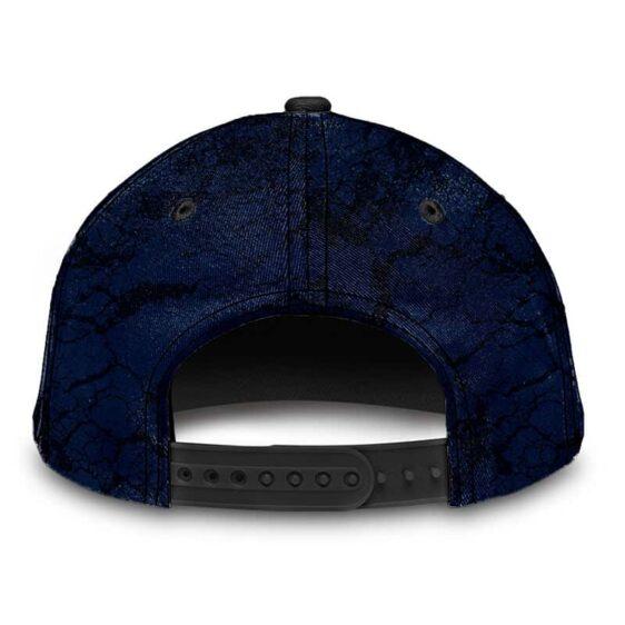 Dragon Ball Z Capsule Corp Grunge Art Blue Baseball Hat
