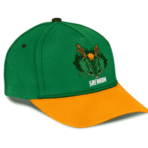 Dragon Ball Z Cool Divine Shenron Art Green Dad Baseball Cap