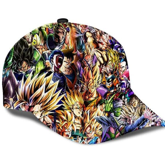 Dragon Ball Z Family Of Characters Cool Dope Dad Cap