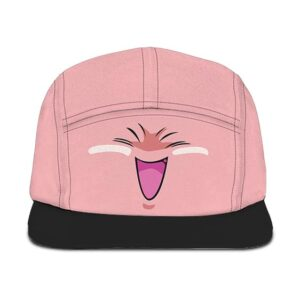 Dragon Ball Z Fat Buu Cute Pink Simple Five Panel Cap
