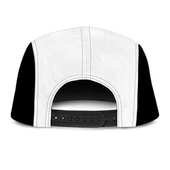 Dragon Ball Z Fresh Prince Vegeta Awesome Black White Camper Cap
