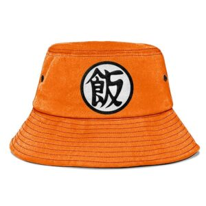 Dragon Ball Z Future Gohan Kanji Orange Awesome Bucket Hat