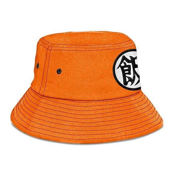 Dragon Ball Z Future Gohan Kanji Orange Awesome Bucket Hat