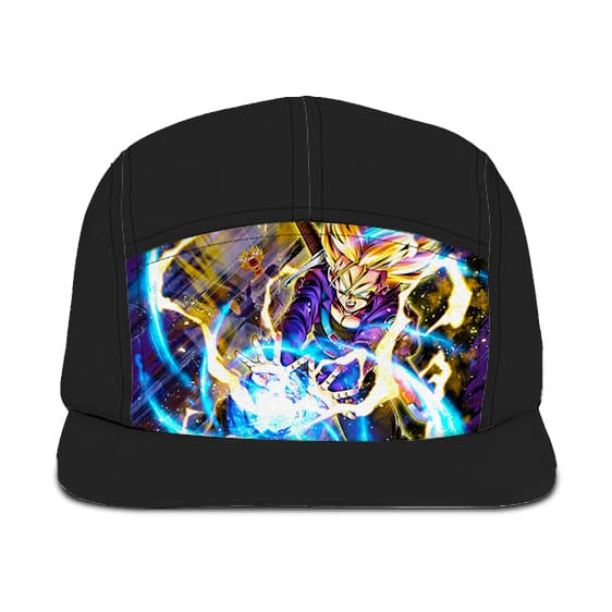 Dragon Ball Z Future Trunks Super Saiyan Dokkan Art Camper Hat