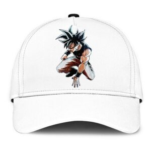 Dragon Ball Z Goku Ultra Instinct Dope White Baseball Hat