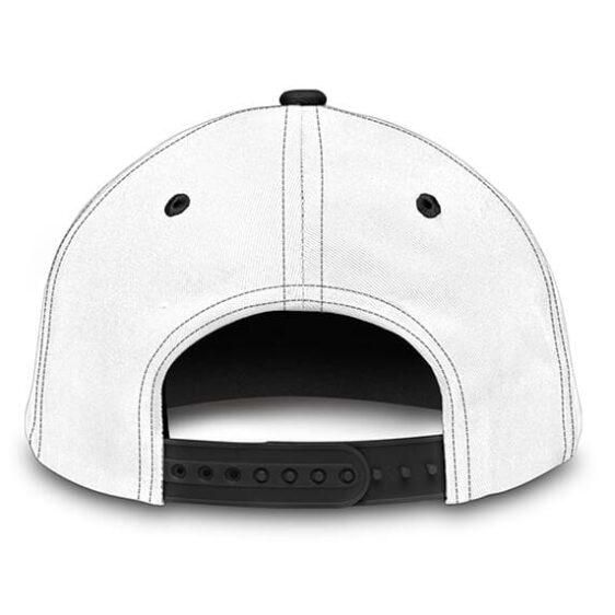 Dragon Ball Z Goku White Black Awesome Baseball Cap