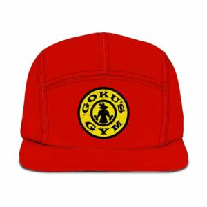 Dragon Ball Z Goku's Gym Awesome Red Camper Hat