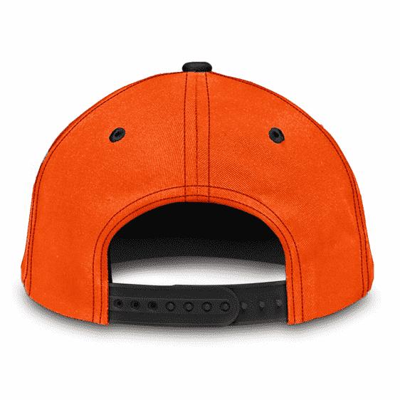Dragon Ball Z Goku's Kanji Symbol Awesome Orange Black Classic Cap