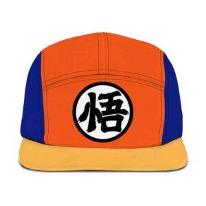 Dragon Ball Z Goku's Kanji Symbol Orange Blue Camper Hat