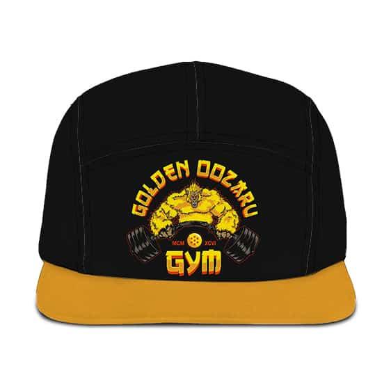 Dragon Ball Z Golden Oozaru's Gym Awesome Black Camper Hat