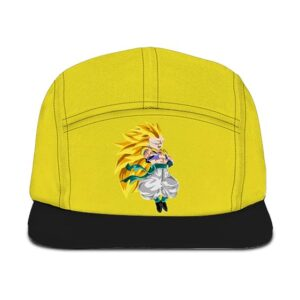 Dragon Ball Z Gotenks Super Saiyan 3 Black Yellow Camper Hat